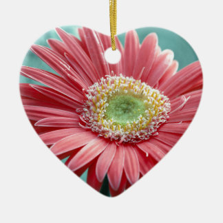 flower ceramic ornament