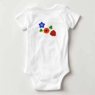 Flower Child Baby Onesie