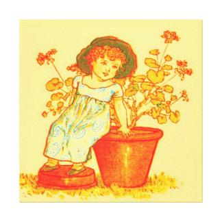 FLOWER CHILD GALLERY WRAP CANVAS