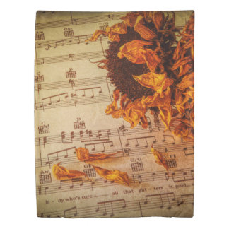 Flower Child Forever Duvet Cover