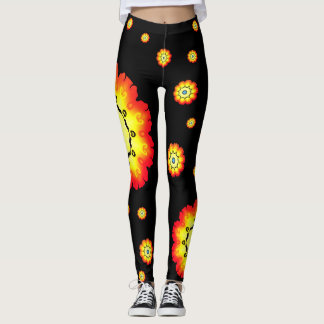 Flower Child Pants Black