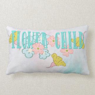 Flower Child Summer Lumbar Pillow