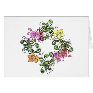 Flower Circle Card