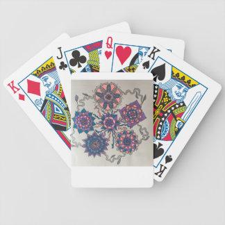 flower circus poker deck
