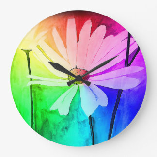 Flower Clock (Change color in Customize!)
