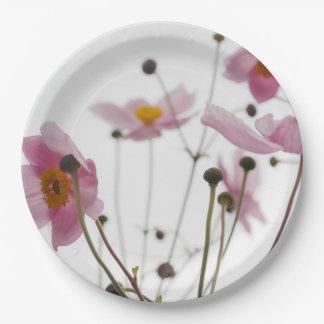 Flower Close-Up Photo Paper Plates