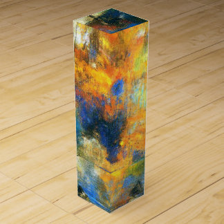 Flower Clouds - Odilon Redon painting Wine Gift Boxes