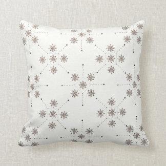 Flower Constellation Throw Pillow