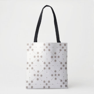 Flower Constellation Tote Bag