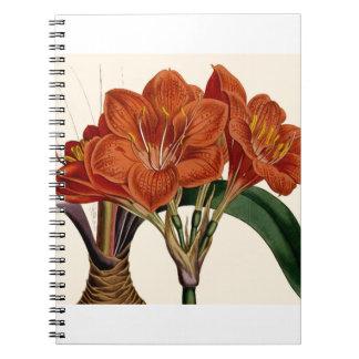 Flower Curtis Botanical Tote Notebook