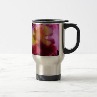 Flower Curves Travel Mug