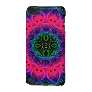 Flower Dance Mandala, Abstract Pink Magenta iPod Touch 5G Case