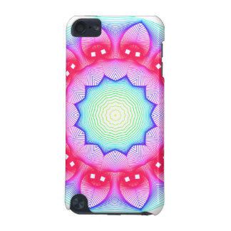 Flower Dance Mandala, Abstract Pink Magenta iPod Touch (5th Generation) Case