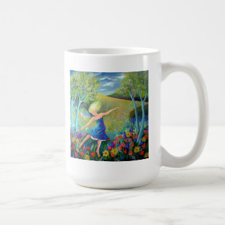 FLOWER DANCING COFFEE MUG