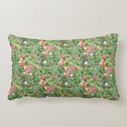 Flower Dapple 1 Lumbar Pillow