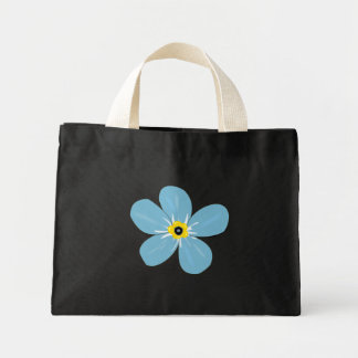 Flower Decor Mini Tote Bag