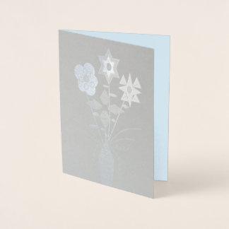 """""""Flower Delivery"""" Blank Foil Card w/Envelope"""