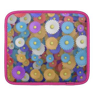 flower design iPad sleeves