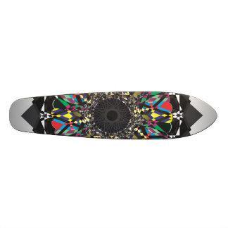 Flower Digital Doodle Skate Decks