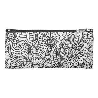 Flower Doodle 2 Pencil Case