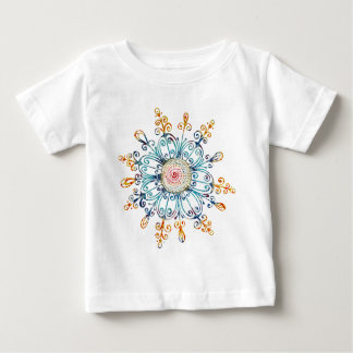 Flower Doodle Baby T-Shirt