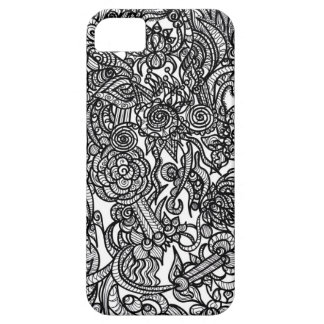 Flower Doodle iPhone 5 Cover