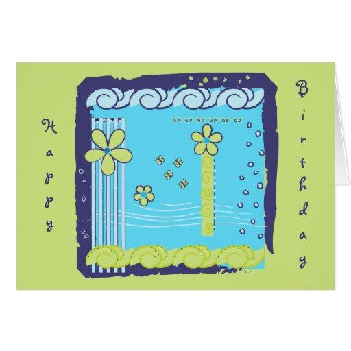 Flower Doodles Cards