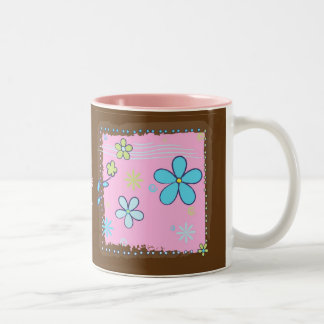 Flower Doodles Coffee Mug