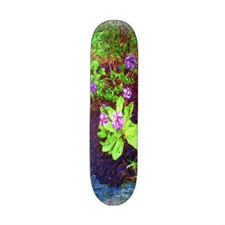 Flower Drawing photo Skate Board Deck