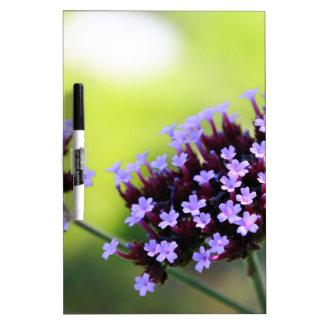flower dry erase board