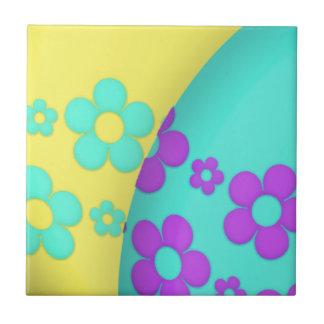 Flower Easter Egg Duo Tile