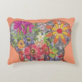 Flower Elephant Pillow Case