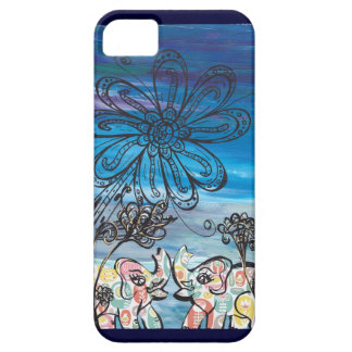 Flower Elephants iPhone Case iPhone 5 Case