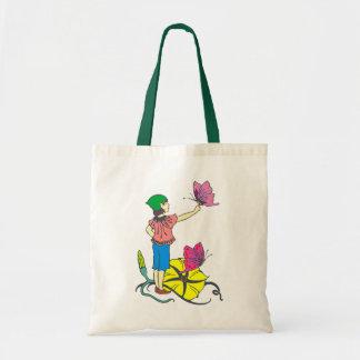 Flower elf more flower eleven tote bag