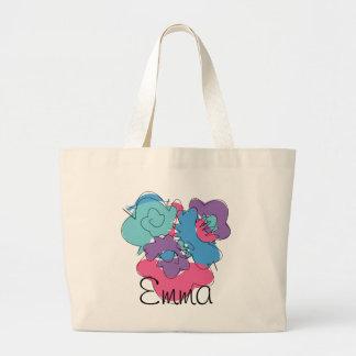 flower, Emma Large Tote Bag