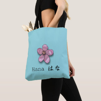 flower emoji tote bag