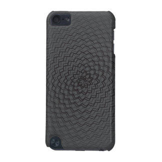 Flower Energy Pattern dark iPod Touch (5th Generation) Cover
