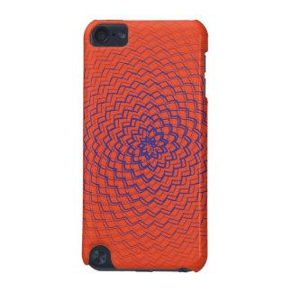 Flower Energy Pattern Orange Purple iPod Touch 5G Case
