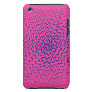 Flower Energy Pattern Purple Pinks iPod Touch Case