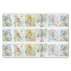 Flower Fairy Art Whimsical Watercolor Tissue Paper