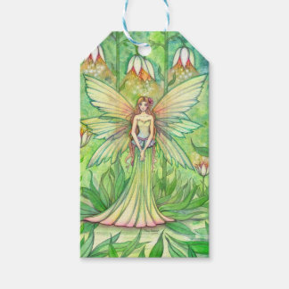 Flower Fairy Fantasy Art Gift Tags Pack Of Gift Tags