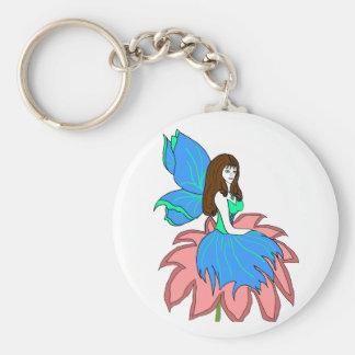 flower fairy key chain