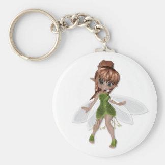 Flower Fairy Keychain