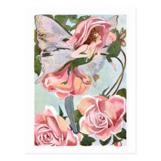Flower Fairy - Postcard