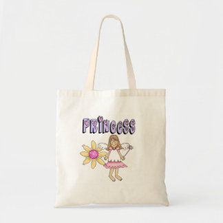 Flower Fairy Princess Tote Bag