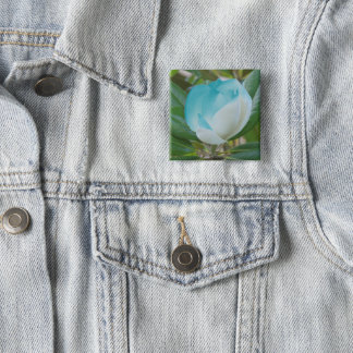 flower fashion badge by DAL 2 Inch Square Button