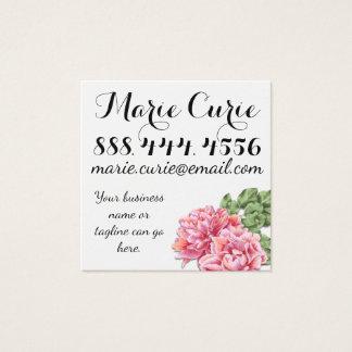 Flower Feminine Business Card