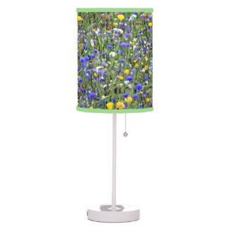 """Flower Field"" Table Lamp"