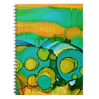 flower fields notebooks