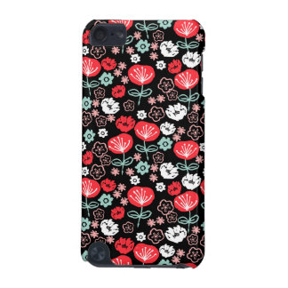 Flower - Floral Black Mint Pink / Andrea Lauren iPod Touch (5th Generation) Covers